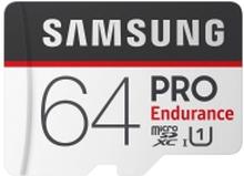 Samsung PRO Endurance MB-MJ64GA - Flashhukommelseskort (microSDXC til SD adapter inkluderet) - 64 GB - UHS-I U1 / Class10 - microSDXC UHS-I