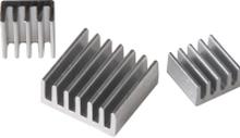 Joy-iT RB-HEATSINK, Processor, Kølelegeme, Raspberry Pi A, B, B+, model 2, Banana Pi, pcDuino, Aluminium, 15 mm, 14 mm