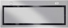 EICO Vittoria 80 X - Hætte - tag - bredde: 77 cm - dybde: 30.6 cm - med intern/ekstern motor - rustfrit stål