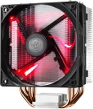 Cooler Master Hyper 212 LED - Processor-køler - (for: LGA775, LGA1156, AM2+, AM3, LGA1155, AM3+, LGA2011, FM1, FM2, LGA1150, FM2+, LGA2011-3, LGA1151