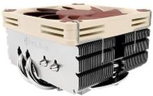 Noctua NH-L9X65 - Processor-køler - (for: LGA1156, AM2, AM2+, AM3, LGA1155, AM3+, LGA2011, FM1, FM2, LGA1150, FM2+, LGA1151, AM4, LGA1200) - aluminiu