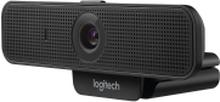 Logitech Webcam C925e - Webcam - farve - 1920 x 1080 - audio - USB 2.0 - H.264