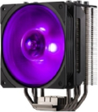 Cooler Master Hyper 212 RGB - Black Edition - processor-køler - (for: LGA1156, AM2, AM2+, LGA1366, AM3, LGA1155, AM3+, LGA2011, FM1, FM2, LGA1150, FM