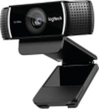 Logitech HD Pro Webcam C922 - Webcam - farve - 720p, 1080p - H.264