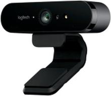 Logitech BRIO 4K Ultra HD webcam - Webcam - farve - 4096 x 2160 - audio - USB