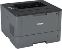 Brother HL-L5100DN - Printer - S/H - Duplex - laser - A4/Legal - 1200 x 1200 dpi - op til 40 spm - kapacitet: 300 ark - USB 2.0, LAN