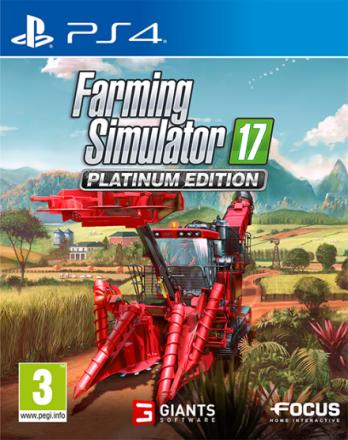 Farming Simulator 17 Platinum Ed PS4 Platinum Edition