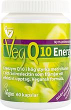 OmniVegan Q10 Energy, 60 kapslar