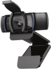 Logitech HD Pro Webcam C920S - Webcam - farve - 1920 x 1080 - audio - USB
