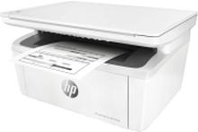 HP LaserJet Pro MFP M28a - Multifunktionsprinter - S/H - laser - 216 x 297 mm (original) - A4 (medie) - op til 18 spm (kopiering) - op til 18 spm (ud