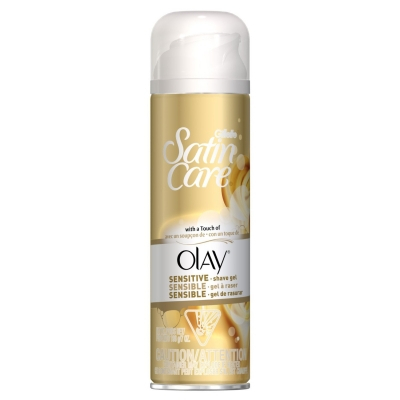 Gillette Satin Care Sensitive With A Touch Of Olay 200 ml