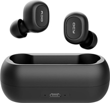 QCY T1C In-Ear True Wireless Stereo Hovedtelefoner - Bluetooth 5.0 - Sort