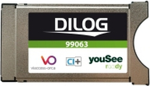 Dilog CA module for YouSee in Denmark, CI+, HD V1.3