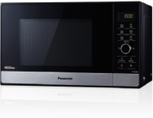 Panasonic NN-SD28HSGTG, Countertop, Solo mikroovn, 23 L, 1000 W, Dreje, Touch, Sort, Rustfrit stål