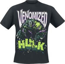 Marvel - Venomized Hulk -T-skjorte - svart