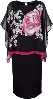 2i1-kjole Paola Svart