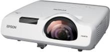 Epson EB-535W - 3LCD-projektor - 3400 lumen (hvid) - 3400 lumen (farve) - WXGA (1280 x 800) - 16:10 - 720p - LAN