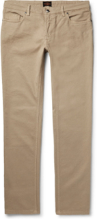 Stretch-cotton Twill Trousers - Beige