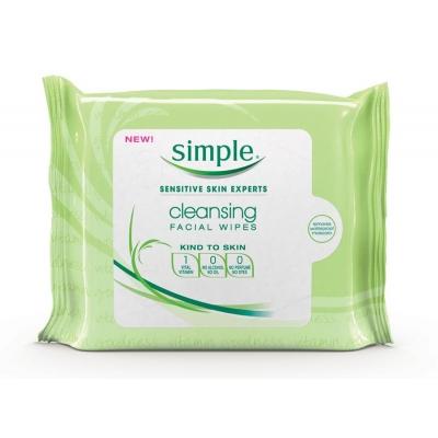 Simple Feuchte Reinigungstücher 25 stk