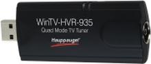 Hauppauge WinTV HVR-935C - Digital / analog TV tuner / radiotuner / videooptagelsesadapter - DVB-C, DVB-T2 - HDTV - USB 2.0 - PAL