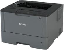 Brother HL-L5000D - Printer - S/H - Duplex - laser - A4/Legal - 1200 x 1200 dpi - op til 40 spm - kapacitet: 300 ark - 1 parllel, USB 2.0
