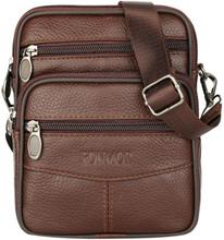 Fashion Leather Men Shoulder Bag Casual Business Mens Messenger Bag Vintage New Men's Crossbody Bag Packs Phone Pouch sac a main