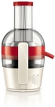 Philips Viva Collection HR1855 - Saftpresser - 2 liter - 700 W - rød