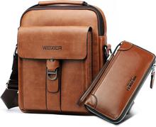 Casual Men Shoulder Bags Handbag Messenger Bag Man Crossbody Bags for Men PU Leather Business Bag Vintage Handbags Solid Hasp