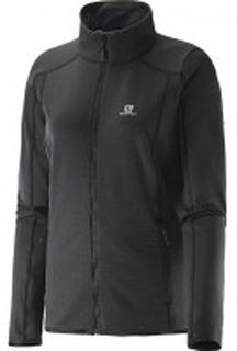 Salomon Discovery FZ Black jakke - dame