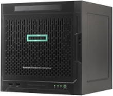 HPE ProLiant MicroServer Gen10 Performance - Server - ultra mikro tower - envejs - 1 x Opteron X3418 / 1.8 GHz - RAM 8 GB - ingen HDD - GigE - skærm: