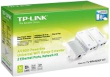 TP-LINK TL-PA4010 + 2x TL-WPA4220
