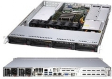 Supermicro A+ Server 1014S-WTRT, Socket SP3, AMD, AMD EPYC, DDR4-SDRAM, 2000 GB, 3200 Mhz