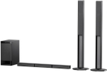 Sony HT-RT4 Soundbar Sort Bluetooth®, Inkl. trådløs subwoofer, NFC