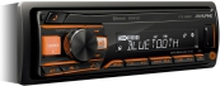 Alpine UTE-200BT, Sort, 1 DIN, 50 W, AAC,FLAC,MP3,WMA, LCD, A2DP,AVRCP,HFP