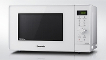 Panasonic NN-GD34HWSUG, Bordplade, Grill mikroovn, 23 L, 1000 W, Knapper, Dreje, Grå, Hvid