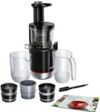 Bosch MESM731M, Slow juicer, Sort, 55 rpm, 1,3 L, 1 L, 150 W