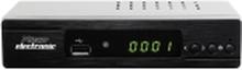 Microelectronic M310 plus DVB-S2 receiver Front-USB, Camping-drev, Mulighed for enkeltkabel