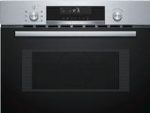 Bosch Serie 6 CMA585MS0, Indbygget, Kombination mikroovn, 44 L, 900 W, Dreje, Sort, Rustfrit stål