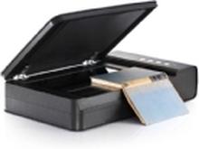 Plustek OpticBook 4800 - Flatbed-scanner - CCD - A4/Letter - 1200 dpi - op til 2500 scanninger pr. dag - USB 2.0