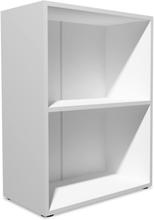 Vidaxl bokhylla spånskiva 60x31x78 cm vit
