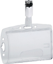 Id-kortholder durable, med clip, til 1 kort, æske a 40 stk.