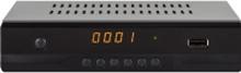 Megasat HD 6000 DS, Kabel, DVB-S2, 1920 x 1080 pixel, 1080p, 16:9, Sort