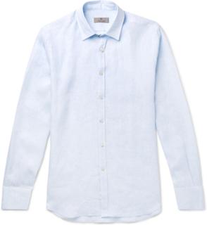 Linen Shirt - Blue