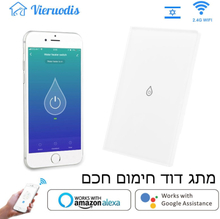 WiFi Smart Boiler Switch Water Heater Smart Life Tuya APP Glass Panel Remote Control Amazon Alexa Echo Google Home Voice Control