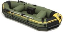 Bestway 65096, Rejse/fritid, Oppustelig båd, Sort, Grøn, Gul, Vinyl, 3 person(er), 270 kg