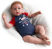 RSG Reborn Baby 28 Inches Lifelike Newborn Cute Liam Vinyl Unpainted Unfinished Parts DIY Blank Doll Kit