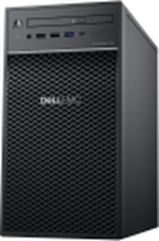 Dell EMC PowerEdge T40 - Server - tower - envejs - 1 x Xeon E-2224G / 3.5 GHz - RAM 8 GB - HDD 1 TB - DVD-skriver - UHD Graphics P630 - GigE - intet