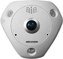 Hikvision Ds-2cd6362f-ivs Outdoor Fisheye 6mp Valkoinen