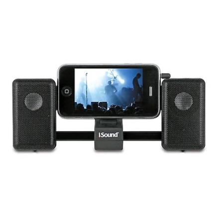 iSound - iMan Universal bærbar glidende Speaker System - sort