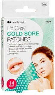 Healthpoint Lip Care Cold Sore Patches 14 stk